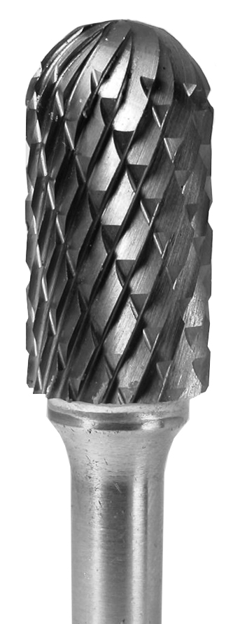 Grobet CARBIDE BUR USA MADE CYLINDER RADIUS END 3/8X3/4X1/4     BEAR CUT at Sears.com