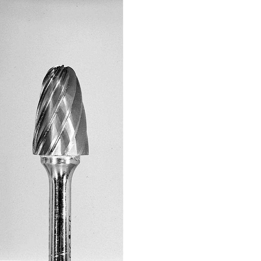 Grobet CARBIDE BUR USA MADE TREE RADIUS 1/4X3/4X1/4   ALUMINUM CUT at Sears.com